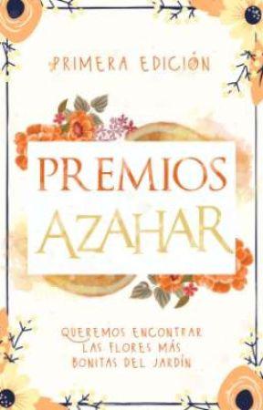 PREMIOS AZAHARA | 1°EDICIÓN - CERRADO by azaharaeditorial