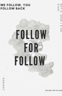 Follow for Follow cover