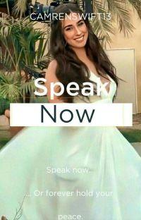 SPEAK NOW (CAMREN) cover