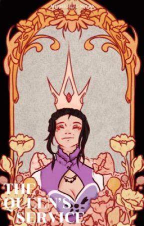 The Queen's service                      Au!Sans' x Reader  {SEQUEL}   by MissHoll-E-Socks