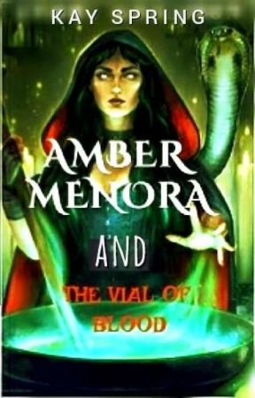 Amber Menora and The Vial Of Blood (Slow Updates) by Gemm_Stone