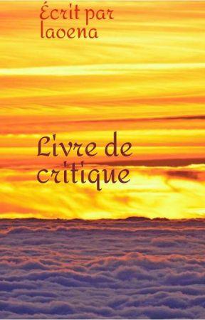 Livre de critique  ( Fermé )  by laoena