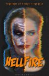 hell fire • joker + bruce wayne cover