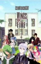 Wings Of Fire: As Humans by AngelPhoenixWOF