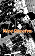 nice receive. | haikyuu  by PanicAtTheBeeb0