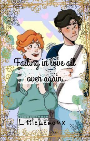 That awkward magic Au .Falling in love all over again. by Crxstaq