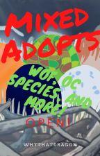 Mixed Adopts by FireStorm_Garnetwake