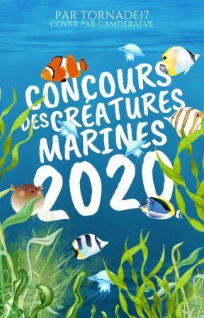 Concours des créatures marines 2020 by loannauteure