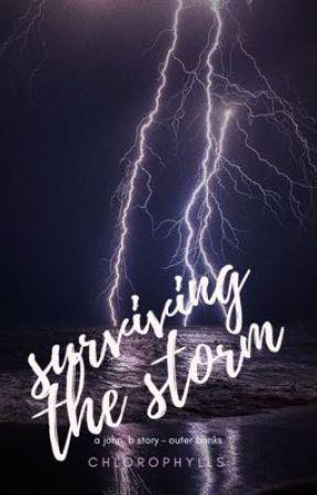 surviving the storm  ↠  john b / outer banks by soupysalutations