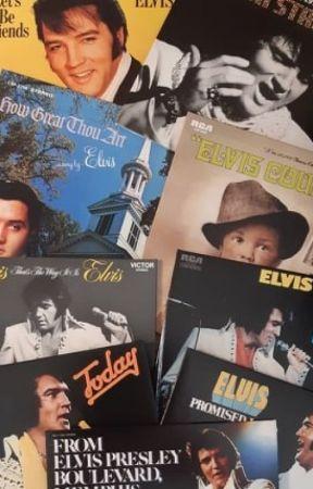 ELVIS: Wszystkie płyty króla 1966 - 1977 by MariuszOgiego