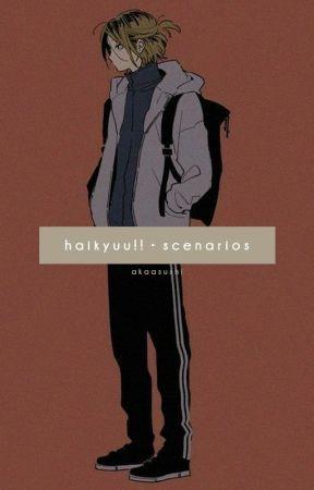 「  haikyuu!!   •   scenarios  」 by giyuushaori