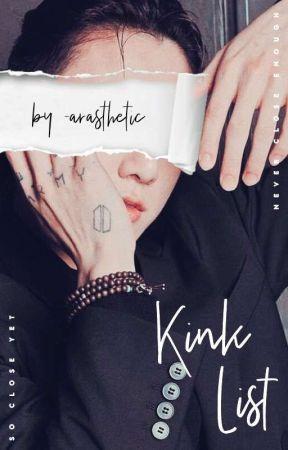 Kink List | JJK by _arasthetic
