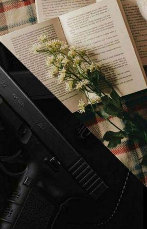 Books 'n Guns by kook8124