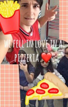 we fell in love in a pizzeria / dan x steph by fairycars