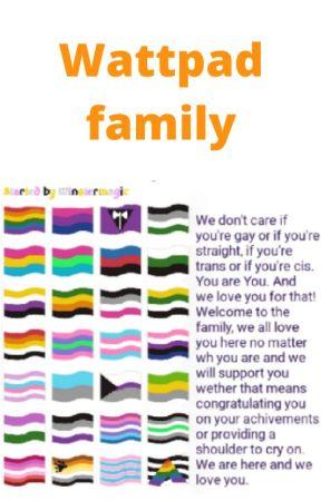 Wattpad family! by winstermagic