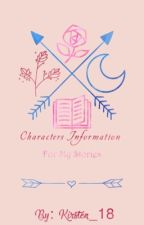 Characters Info. for my Stories  by Kirsten_18