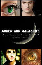Amber and Malachite by Jasmyn3MC