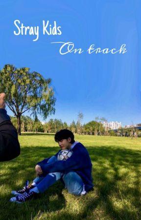 Stray Kids:On track         Hwang Hyunjin  by Kongin15