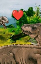 Rexy x Indominus Rex by canthavename178