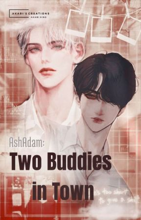 AshAdam:Two Buddies in Town by Esther_Nang