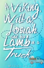 A Viking, Willa, Josiah And His Lamb In A Truck   ✔ by wigglysubu