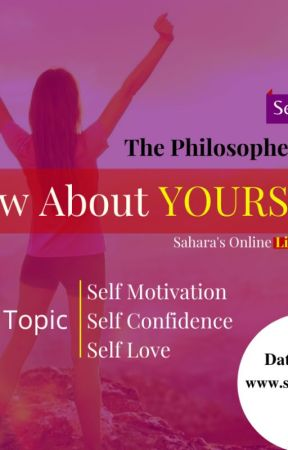 The Philosopher's Class - Online Live Seminar at SAHARA EDU LIVE by Saharaonlinelive