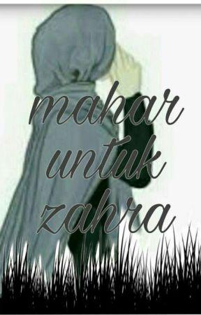 Mahar Untuk Zahra by nabilaap10603