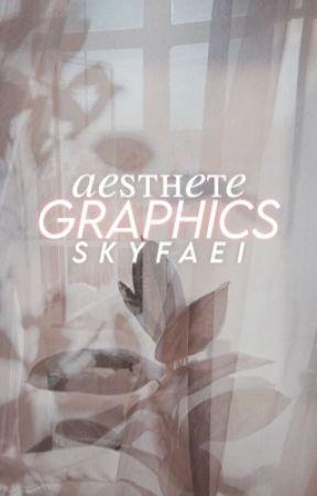 aesthete. ᵍʳᵃᵖʰⁱᶜ ᵖᵒʳᵗᶠᵒˡⁱᵒ by skyfaei