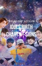 ☽ KPOP IDOLS BIRTH CHARTS ☾  by yunhosthiccass