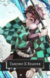 tanjiro x reader(half-demon) cover