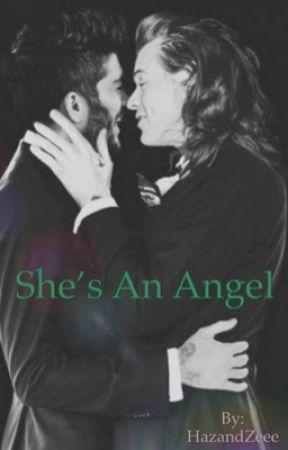 She's an Angel  by HazandZeee