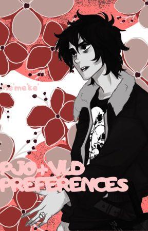 PJO + VLD Preferences by AnnabethJackson0000
