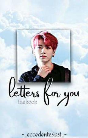 letters for you   taekook ZAWIESZONE by tkroni