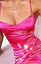 cigarettes | k.sw + c.ch by flwrkyuu