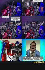 Cascade's Adventures Starring:Optimus Prime, Ratchet and Soundwave by Soundwave-Superior