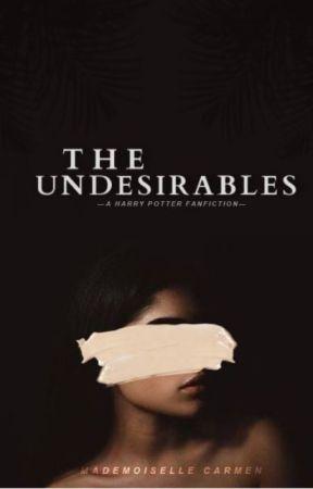 THE UNDESIRABLES    ʰᵃʳʳʸ ᵖᵒᵗᵗᵉʳ by MademoiselleCarmen
