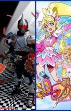 Kamen Rider Blade X DokiDoki! Pretty Cure by Me-Gagu-Re