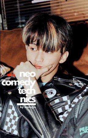 neo comedy technics ➳ mark lee by wenujin