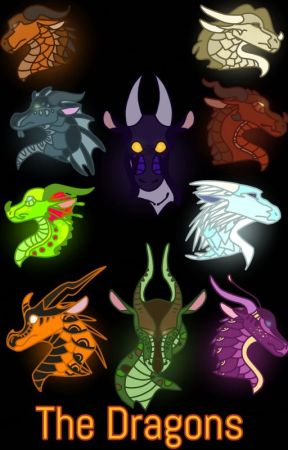 Wings of Fire Appearances and Names by IrelandNeedsFood
