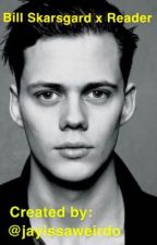 Bill Skarsgard X Little Reader by JayIssaWeirdo