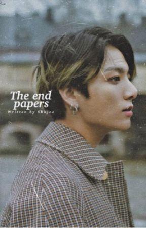 أوراق النهاية    The end papers by ShhJoe