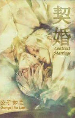 [TR ÇEVİRİ] BL-Contract Marriage Novel by Blackberryyshizu