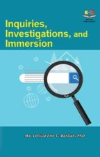 Inquiries, Investigations, and Immersions by schoolnotes21