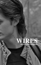 wires, steve harrington  by hollywillow-