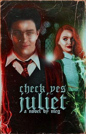 CHECK YES JULIET ▷ JAMES POTTER [1] by phoebestonkin