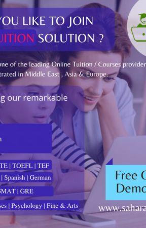 Online Tuition IELTS Online course Online language training saharaedulive by Saharaonlinelive