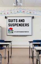Suits and suspenders - janto teacher au by CertifiedAngstWriter