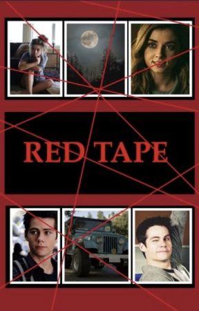 RED TAPE | stiles stilinski by prettylittlelLIARS