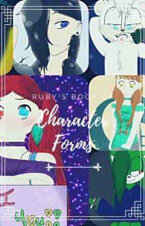Ruby's Book of Character Forms! by Izu_Midoriya
