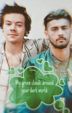 My green clouds around your dark world |z.s| by zarryfav